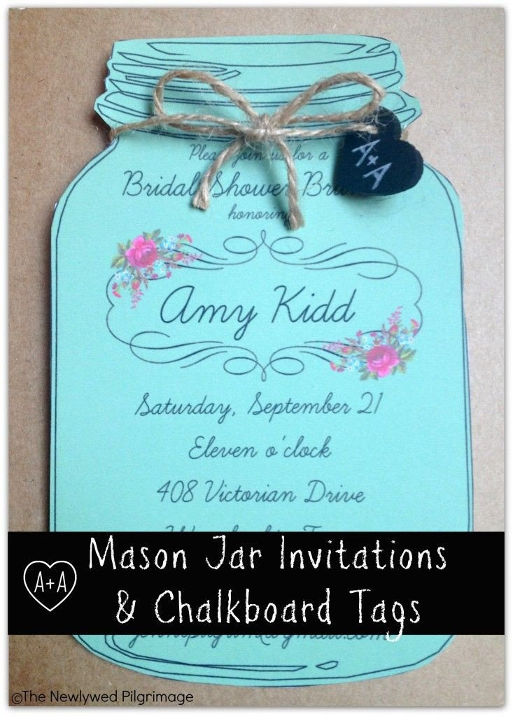 Mason Jar Invitation Template Mason Jar Invitations On Pinterest