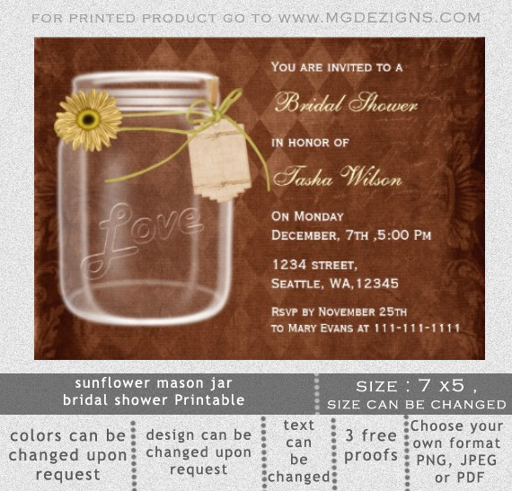 Mason Jar Invitation Template Mason Jar Invitations Templates Blank