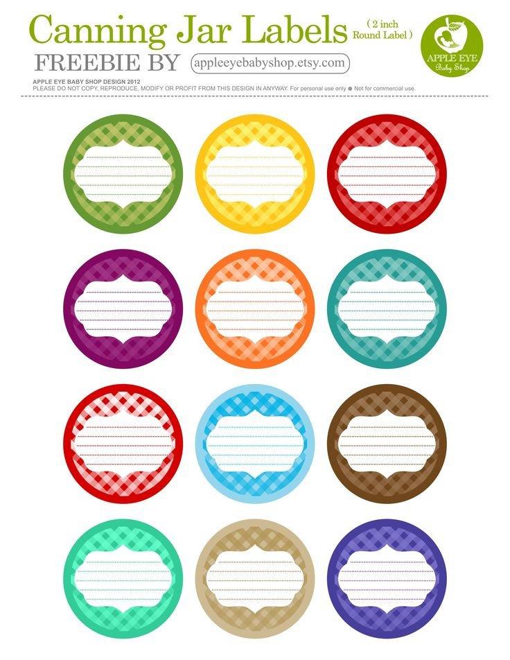 Mason Jar Label Template 25 Best Ideas About Canning Jar Labels On Pinterest