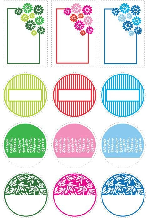 Mason Jar Label Template 56 Cute Mason Jar Labels