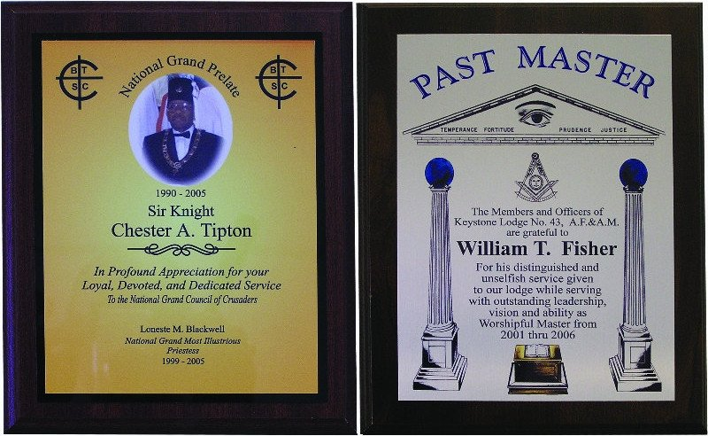 Masonic Certificate Template Free Sp Plaque Sublimated Masonic