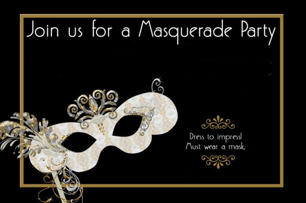 Masquerade Invitations Template Free How to Design Masquerade Party Invitations