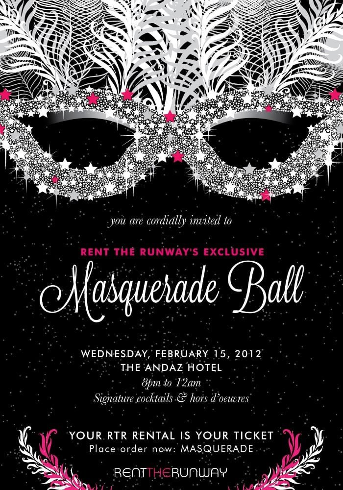 Masquerade Invitations Template Free Masquerade Ball Invitation