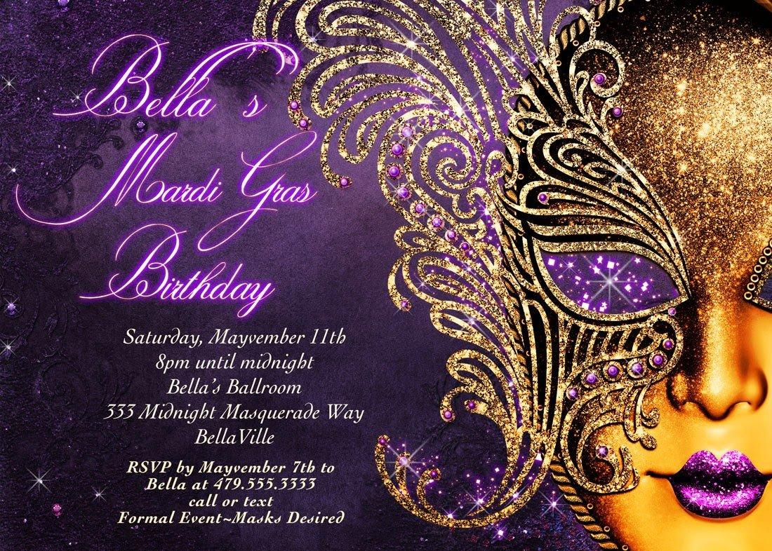 Masquerade Invitations Template Free Masquerade Party Invitations Templates
