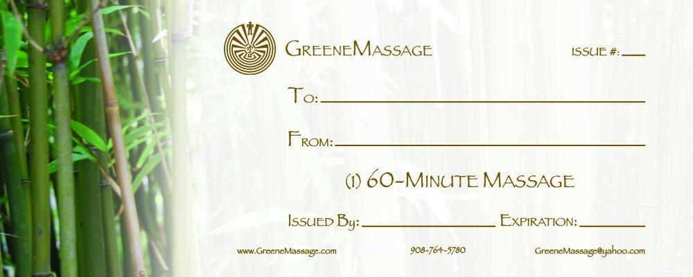 Massage Gift Certificate Template Massage Gift Certificate Templates