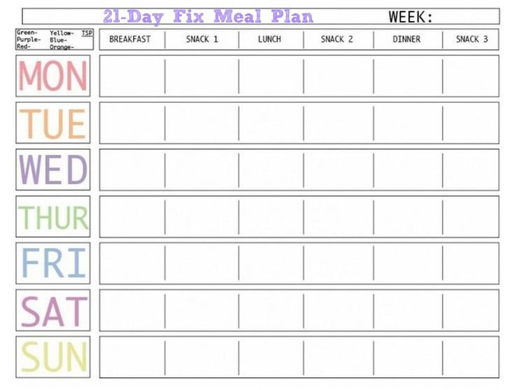 Meal Planning Calendar Template 45 Printable Weekly Meal Planner Templates