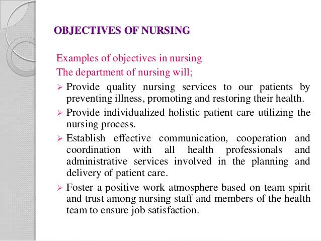 Measurable Nursing Goals Example Vahitha I Yr Copy