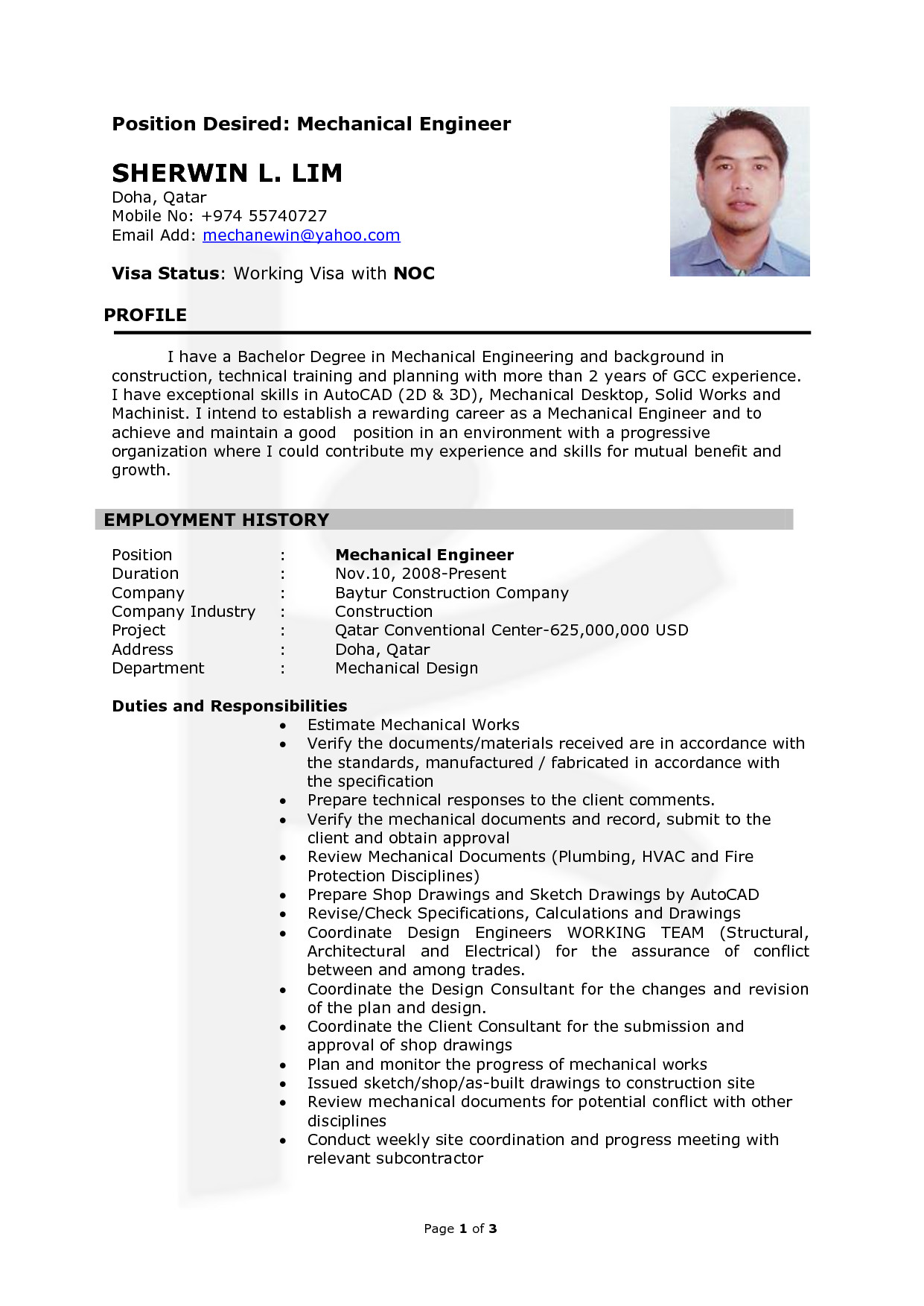 Mechanical Engineer Resume Template 7 Best Of Industrial Design Engineer Industrial
