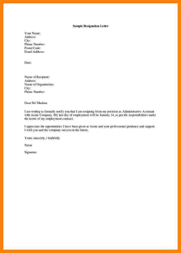 Medical assistant Resignation Letter 7 Resignation Letter Medical assistant
