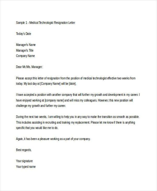 Medical assistant Resignation Letter Sample Letter Physician Leaving Practice