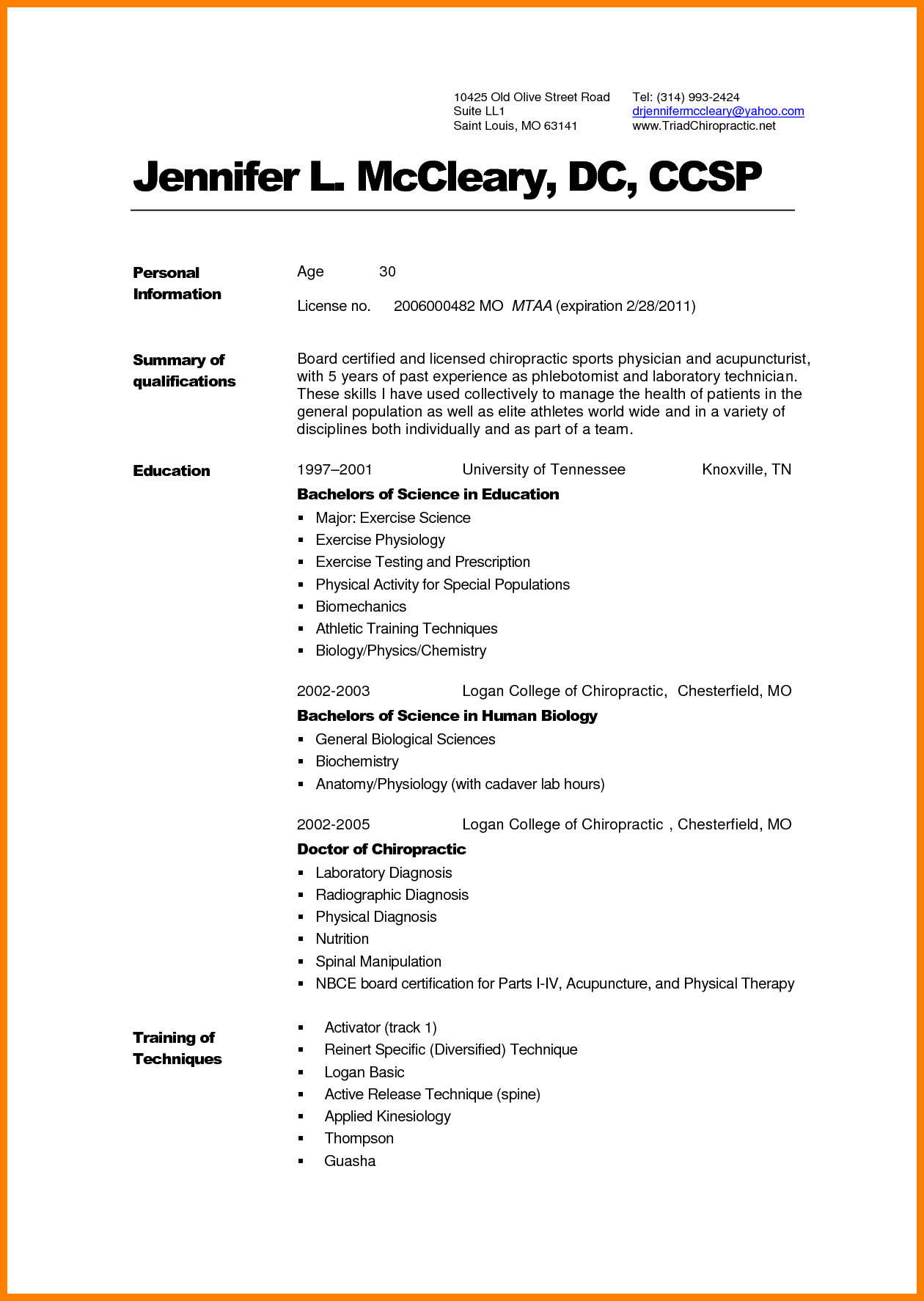 Medical Curriculum Vitae Templates 8 Curriculum Vitae for Doctors Sample