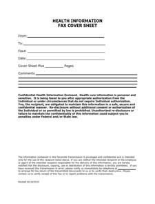 Medical Fax Cover Sheets Fax Cover Sheet Free Download Create Edit Fill and Print
