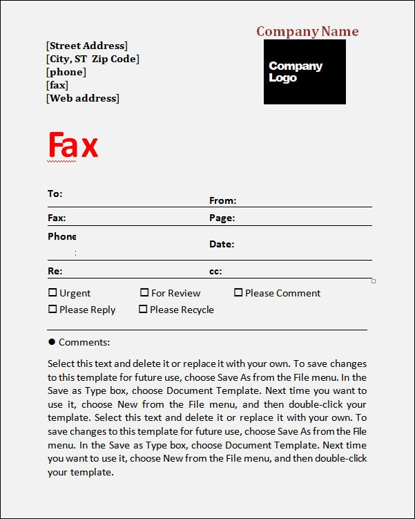 Medical Fax Cover Sheets Fax Cover Sheet Template 6 Free Download In Word Pdf