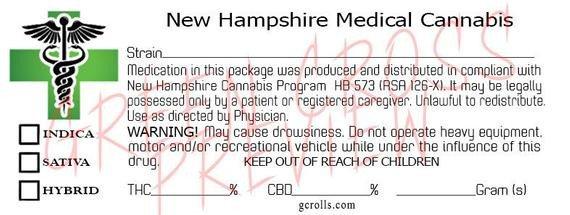 Medical Marijuana Label Template New Hampshire Green Cross Medical Cannabis Label Download