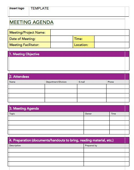 Meeting Notes Template Excel 20 Handy Meeting Minutes & Meeting Notes Templates