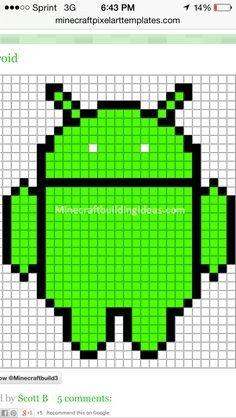 Meme Pixel Art Grid Minecraft Pixel Art Templates Troll Face