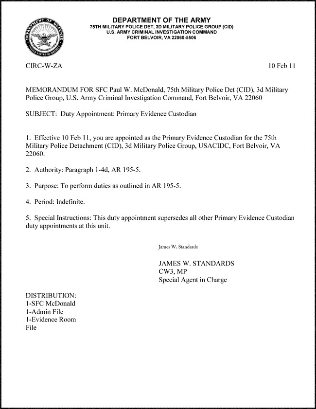 Memorandum for Record Army Best S Of Blank Va Memorandum Veterans Affairs