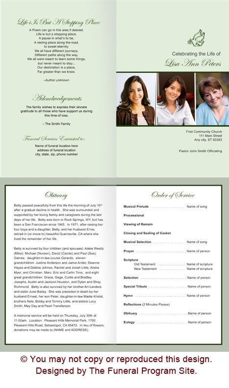 Memorial Services Program Template the 25 Best Memorial Service Program Ideas On Pinterest