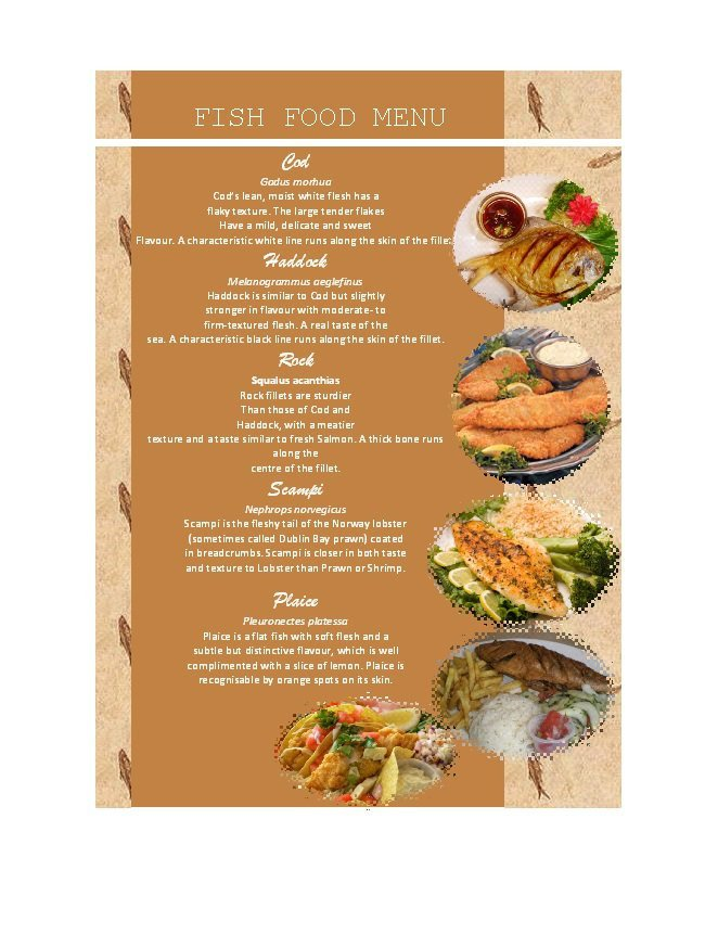 Menu Template Free Download 31 Free Restaurant Menu Templates & Designs Free