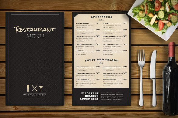 Menu Template Free Download Restaurant Menu Template 33 Free Psd Eps Documents