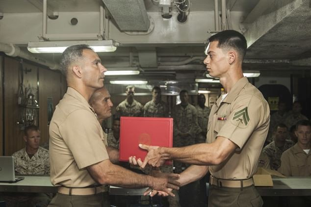 Meritorious Mast Example Leadership by Example U S Marines Plete Corporals