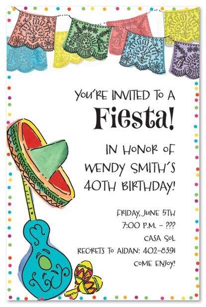 Mexican Fiesta Invitation Templates Free Best 25 Fiesta Invitations Ideas On Pinterest