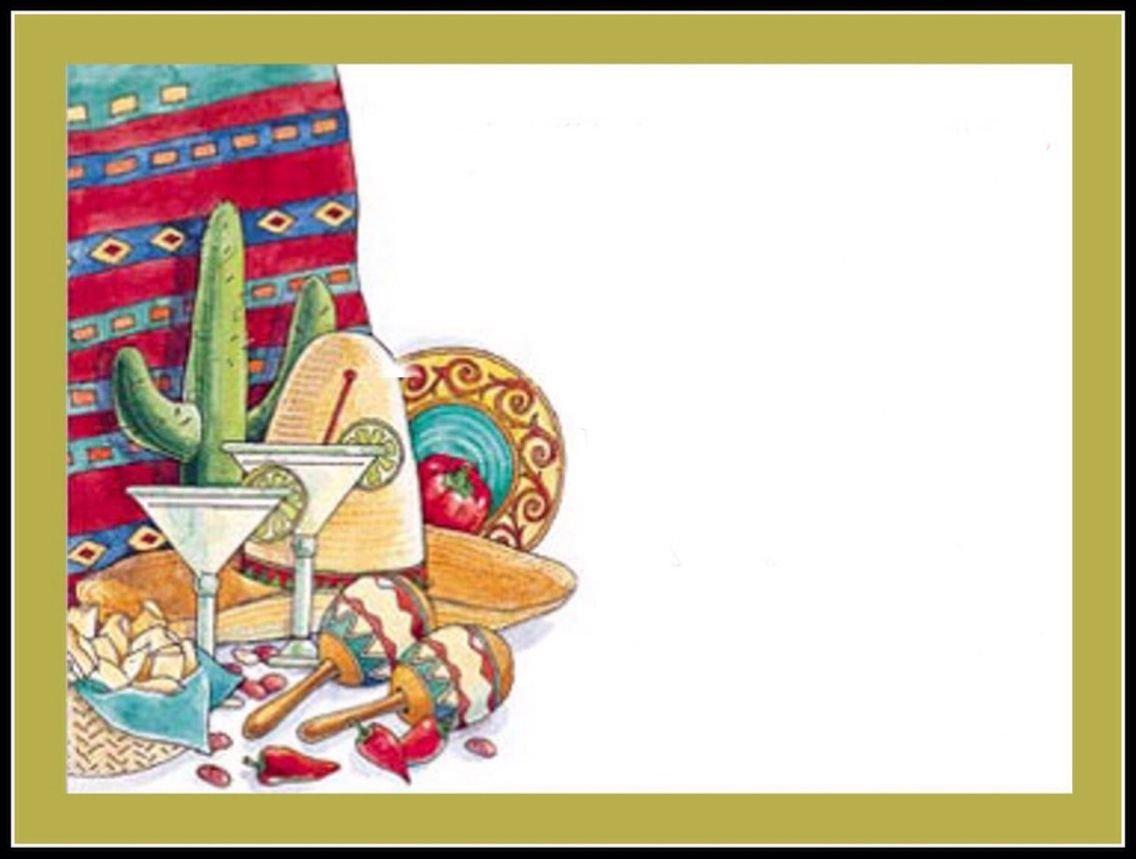 Mexican Fiesta Invitation Templates Free Fiesta Invitation Blank Template