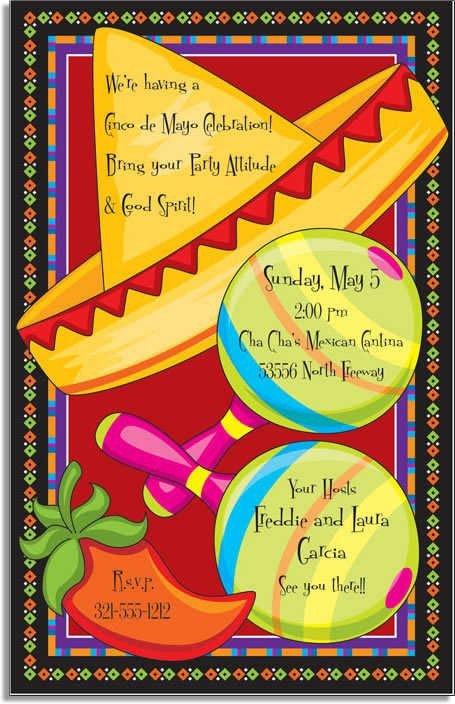 Mexican Fiesta Invitation Templates Free Free Mexican Fiesta Invitation Templates Google Search