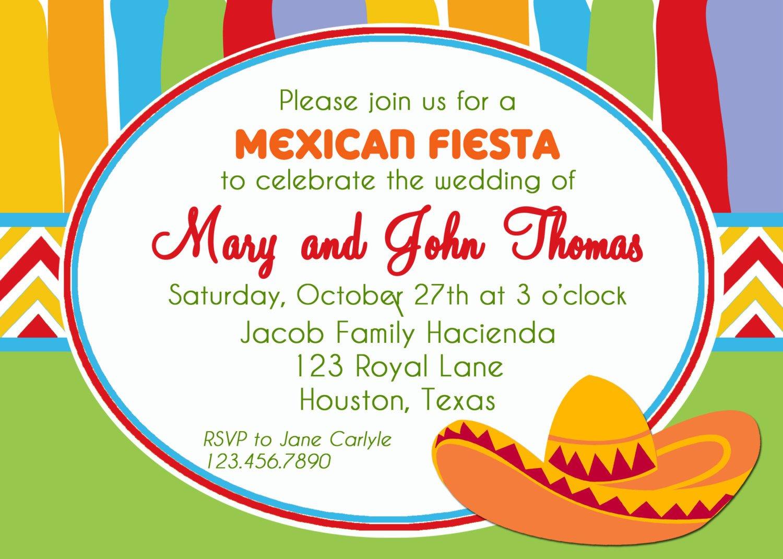 Mexican Fiesta Invitation Templates Free Mexican Fiesta Party Printable Invitation by thatpartychick