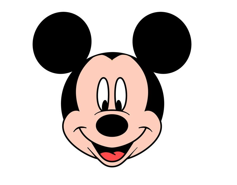 Mickey Mouse Face Template Free Mickey Mouse Face Download Free Clip Art