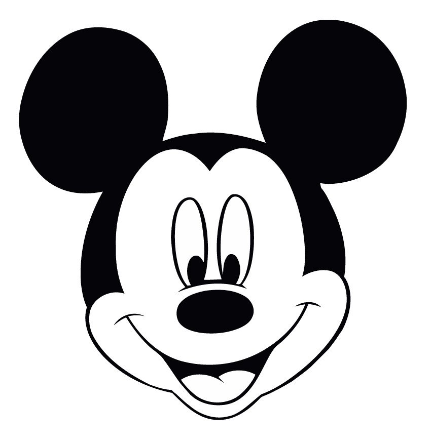 Mickey Mouse Face Template Free Mickey Mouse Face Template Download Free Clip Art