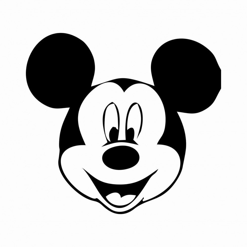 Mickey Mouse Face Template Free Printable Mickey Mouse Template