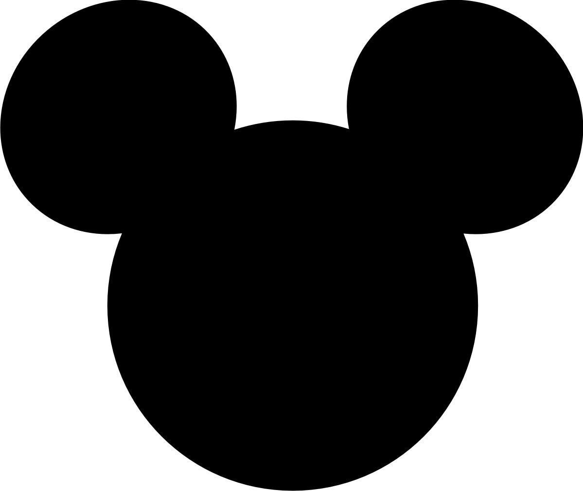 Mickey Mouse Face Template Mickey Mouse Large Printable Cutouts