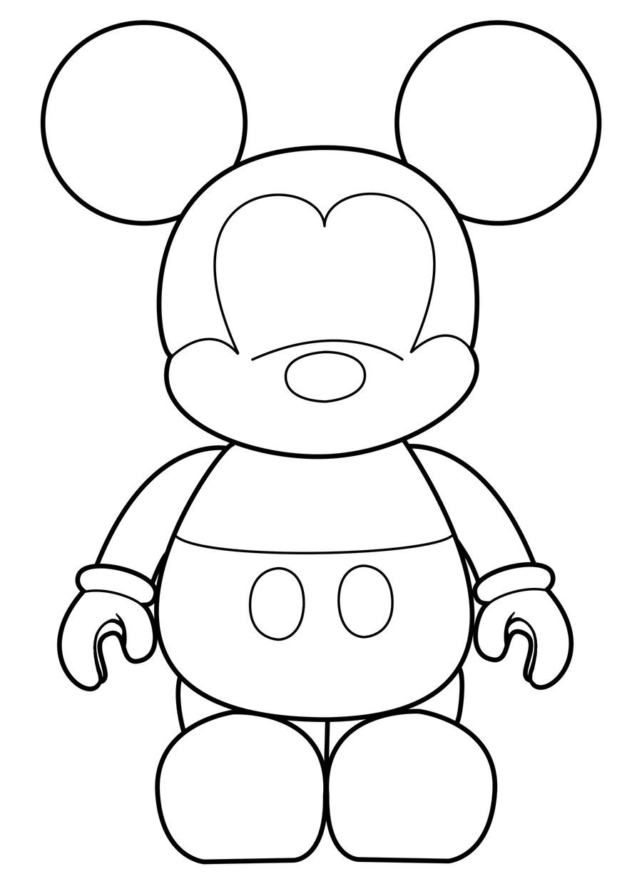 Mickey Mouse Face Template Mickey Vinylmation Template by Errantscarecrow On Deviantart