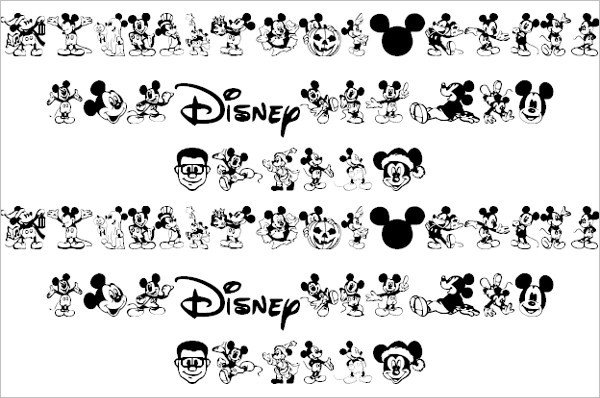 Mickey Mouse Font Free 14 Mickey Mouse Fonts Free Ttf Otf format Download