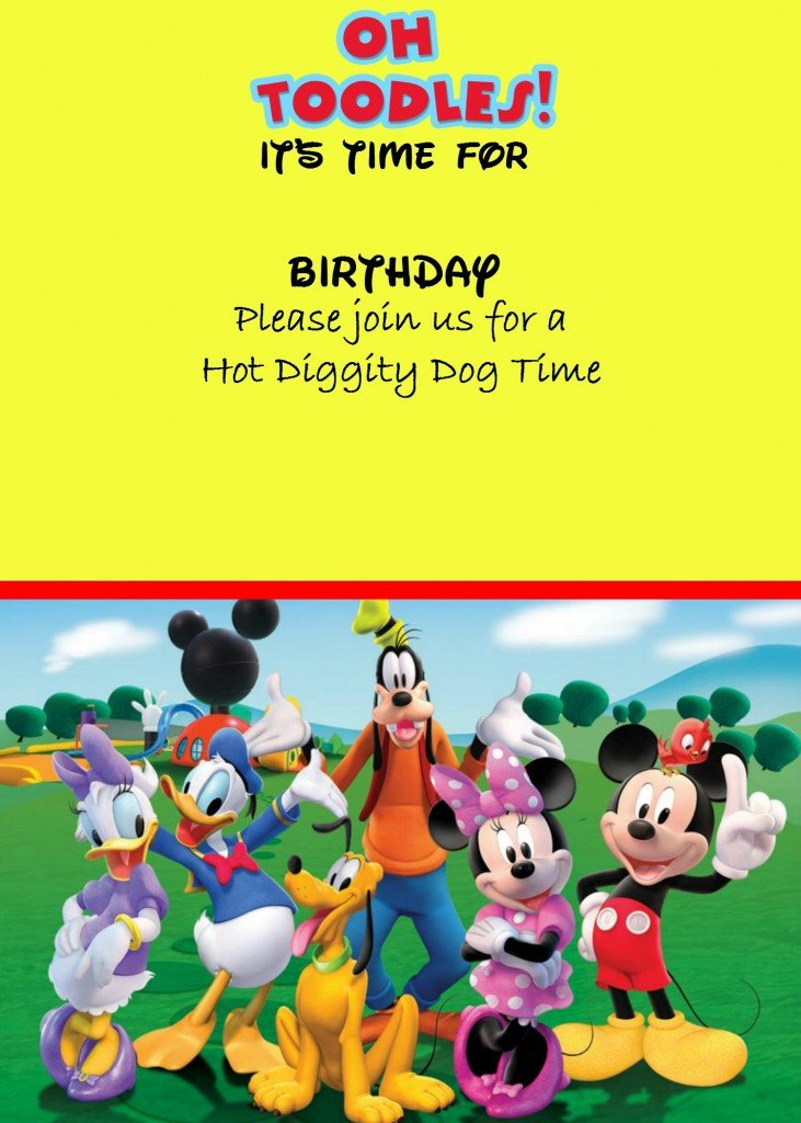Mickey Mouse Invitation Maker How to Make A Mickey Mouse Digital Invitation with Free