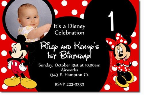 Mickey Mouse Invitation Maker Mickey Mouse Invitation Template