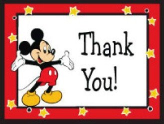 Mickey Mouse Thank You Images Ways to Thank A Cast Member