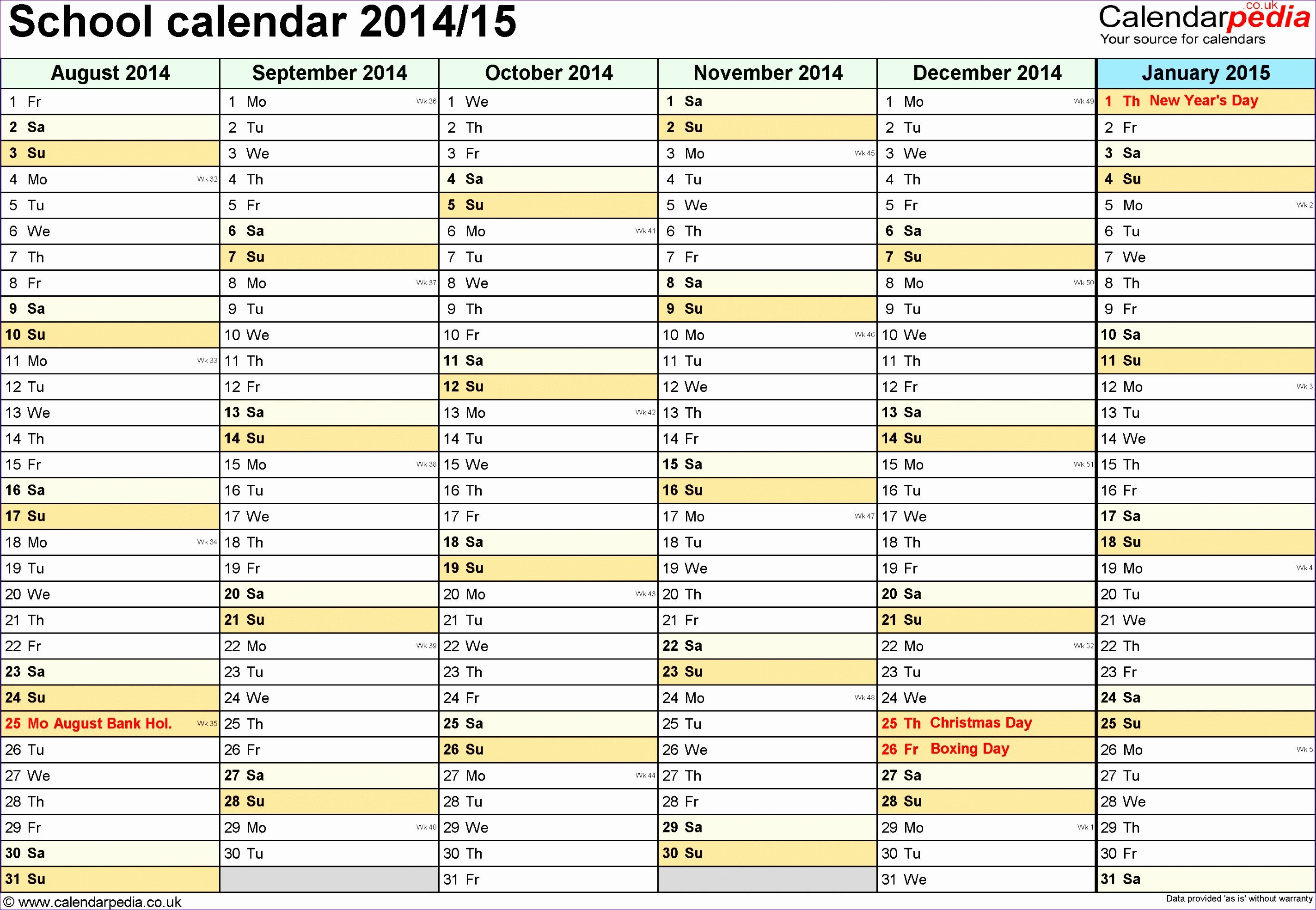 Microsoft Excel Calendar Template 9 Ms Excel Calendar Template 2014 Exceltemplates