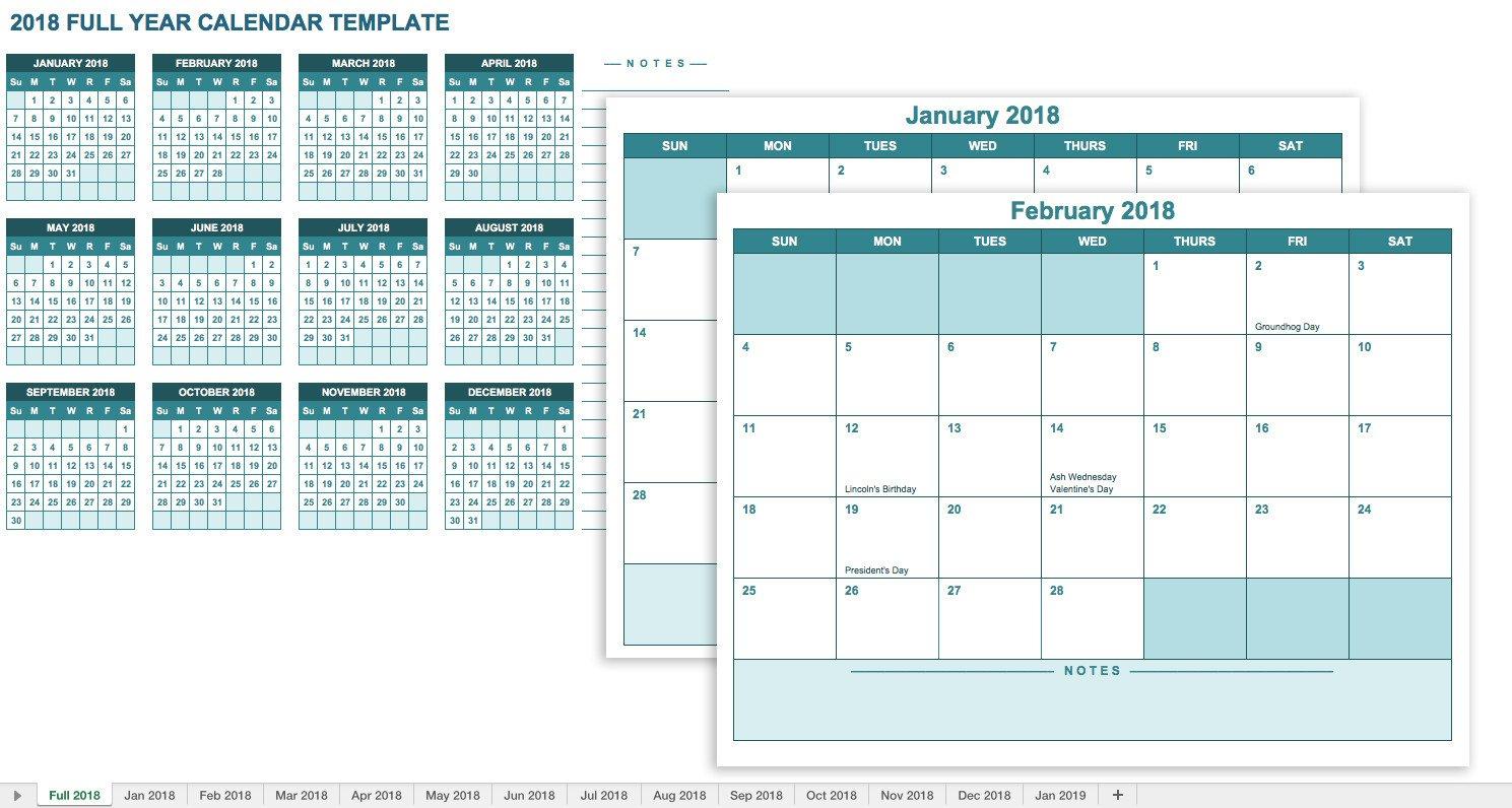 Microsoft Excel Calendar Template Free Excel Calendar Templates