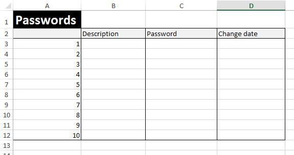 Microsoft Excel Password Template Download Free Excel Examples Downloadexceltemplate
