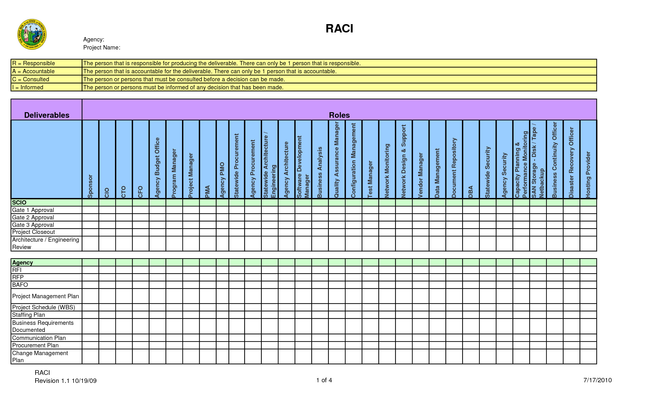 Microsoft Excel Raci Template Surveysnews Blog