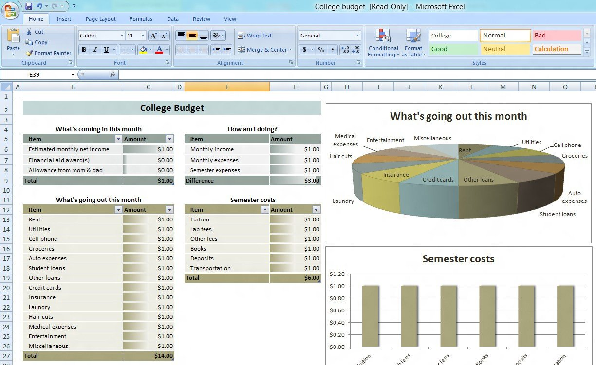 Microsoft Excel Spreadsheet Template Bud Excel Spreadsheet Free – Excel Bud Template 25