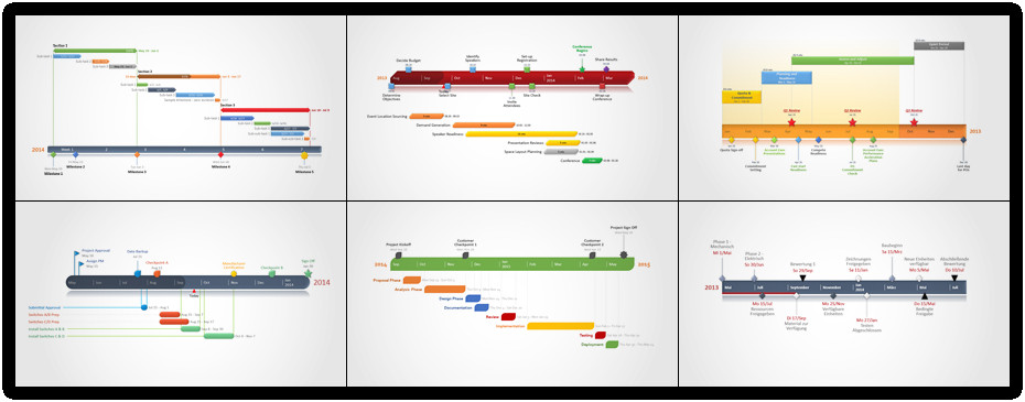 Microsoft Excel Timeline Templates 5 Best Of Examples Timelines Annotated
