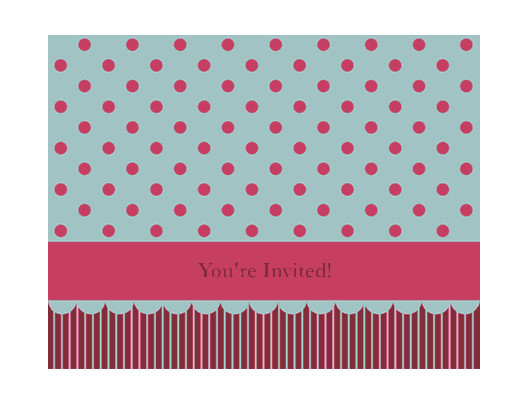 Microsoft Office Invitations Templates Download Generic Invitation Pink and Brown Free