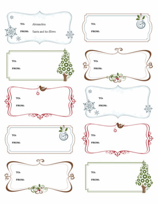 Microsoft Office Label Template Simplify Christmas events with Free Microsoft Fice