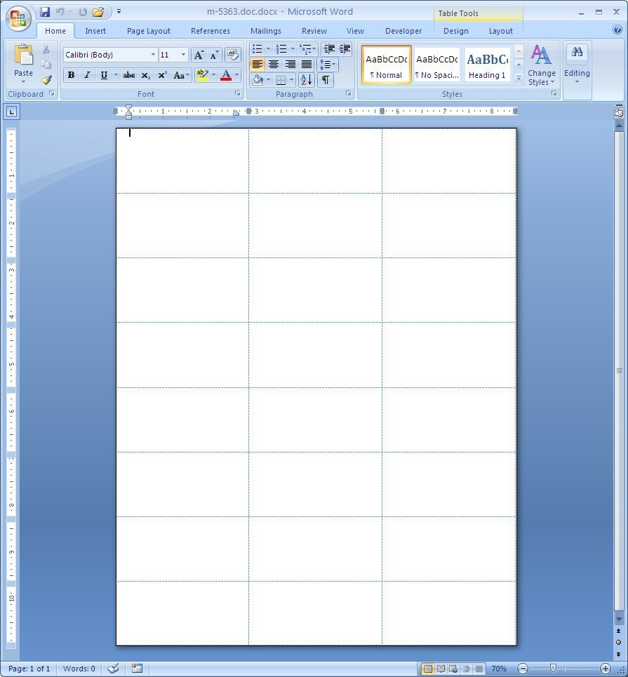 Microsoft Office Labels Template Microsoft Word Label Templates