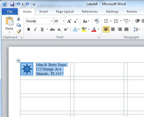 Microsoft Office Labels Templates How to Create A Microsoft Word Label Template Label