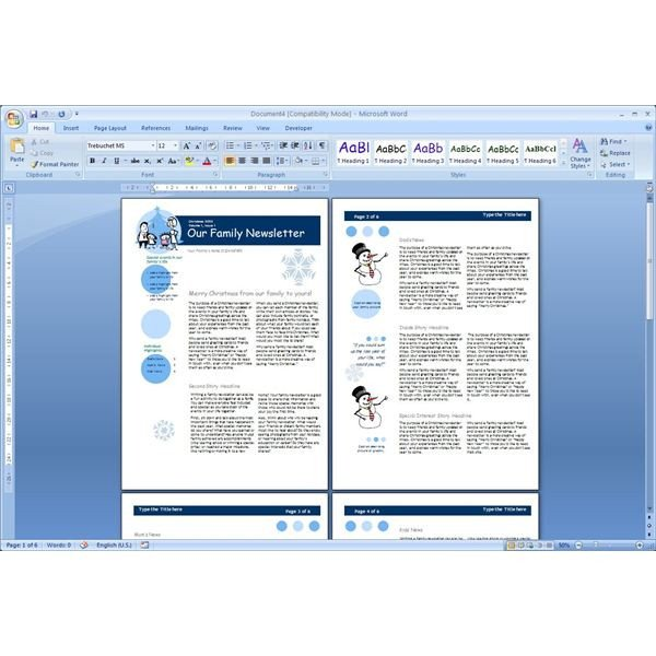 Microsoft Office Newsletter Templates Download the top Free Microsoft Word Templates Newsletters