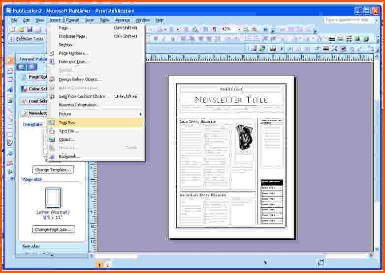Microsoft Office Publisher Templates Download Free Templates In Publisher 2003 Blackraven